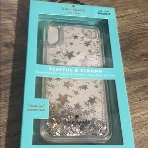 Kate spade I phone X case